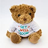 NEW - GET WELL SOON - Teddy Bear - Cute Soft Cuddly - Gift Present