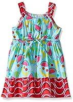 Youngland Girls' Multi Colored Poplin Fr...