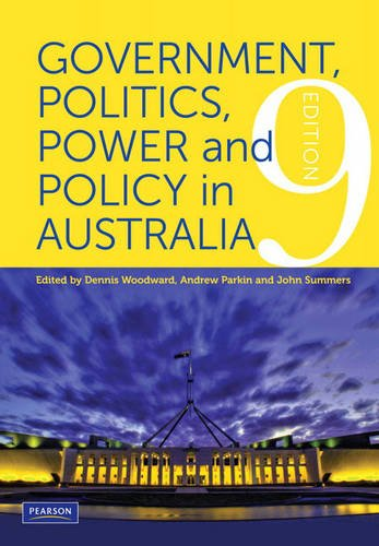 Government, Politics, Power and Policy in Australia