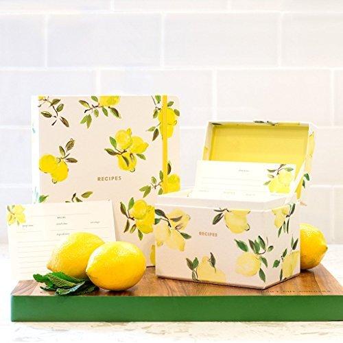 Kate Spade New York Lemon Recipe Box