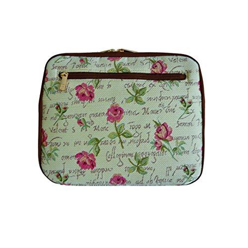 Signare Arazzo caso per iPad borsa il Tablet Rosa
