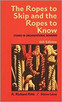 Book The Ropes to Skip and the Ropes to Know: Studies in Organizational Behavior