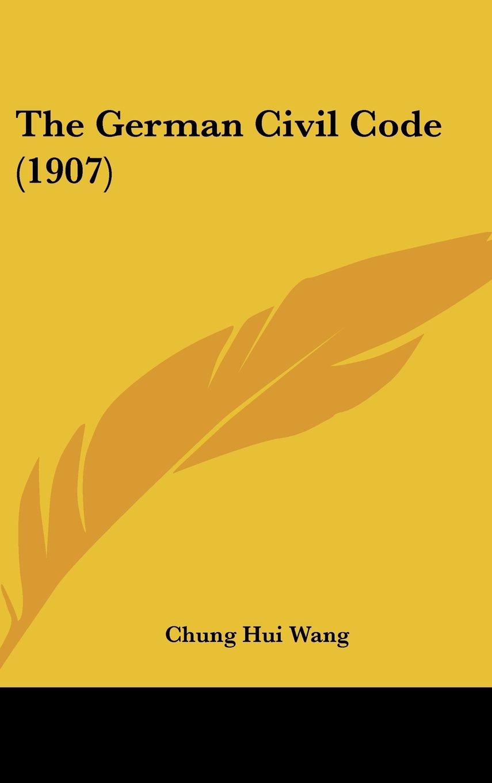 The German Civil Code (1907) ebook