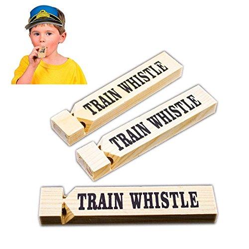 Adorox Toy Train Whistle Locomotive Railroad Western (Woo...