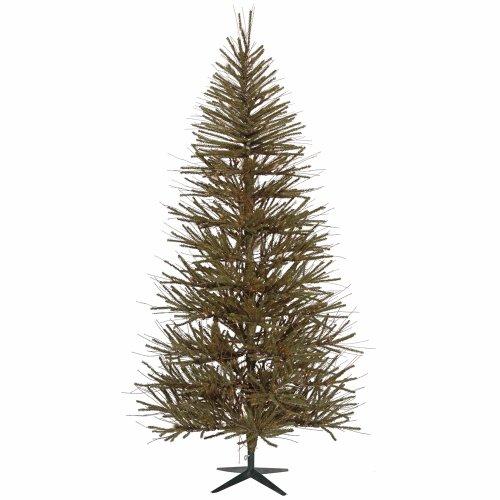 Vickerman Unlit Vienna Twig Artificial Christmas Tree, 7'