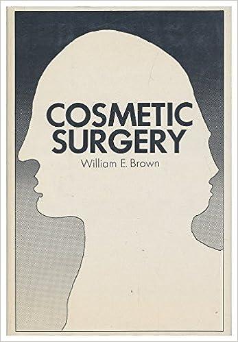 Télécharger un livre d'or gratuit Cosmetic Surgery PDF FB2