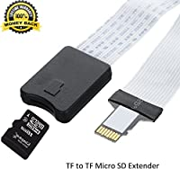 SD Extender Cable to SD Card Extension Cord Micro SD Memory Card for SanDisk SDXC/Macbook/Kindle/Raspberry Pi/Camera/3D Printer from WS