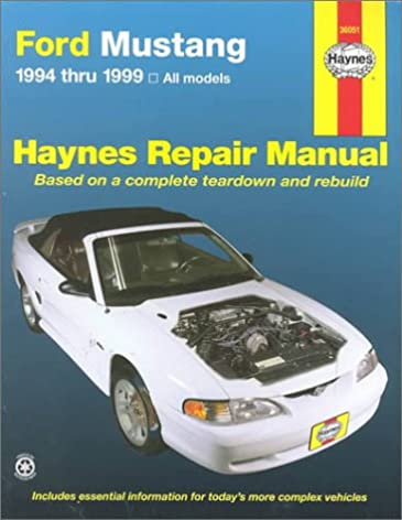 haynes ford mustang repair manual 1994 thru 1999 all models haynes rh amazon com 2013 Ford Mustang Repair Manual 1999 ford mustang repair manual pdf