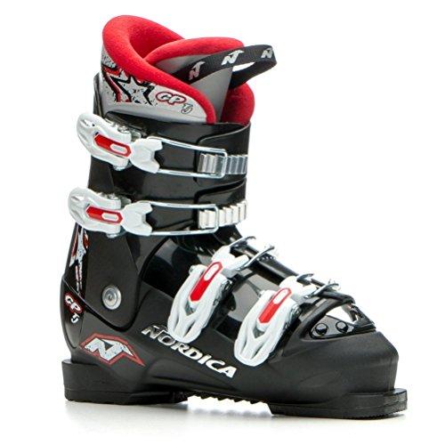 2016 Nordica GP TJ Junior Ski Boots (Black/Red, ()