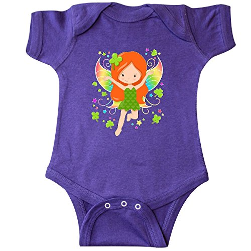 Redhead Infant Diaper (inktastic Lucky Fairy for St. Patricks Infant Creeper 12 Months Purple 2e926)