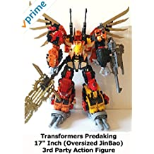 """Review: Transformers Predaking 17"""" Inch (Oversized JinBao) 3rd Party Action Figure"""