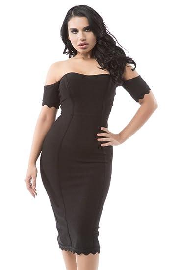 Off the Shoulder Cap Sleeve Dress