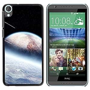 Be Good Phone Accessory // Dura Cáscara cubierta Protectora Caso Carcasa Funda de Protección para HTC Desire 820 // Space Sci Fi