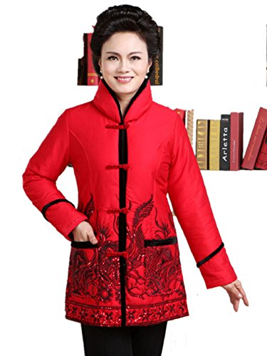 100% Cotton Womens Tang Suits Cotton-padded Jackets Jackets Business Jackets Cotton-padded Clothes by Womens Tang Suit