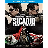 Sicario: Day of the Soldado (Uncut) [Blu-ray/DVD] (2018) | Imported from USA | Region A Locked | 122 min | Sony Pictures | Action Crime | Director: Stefano Sollima | Stars: Benicio Toro, Josh Brolin