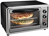 Hamilton Beach 31104 Countertop Oven with Convection and Rotisserie, Silver