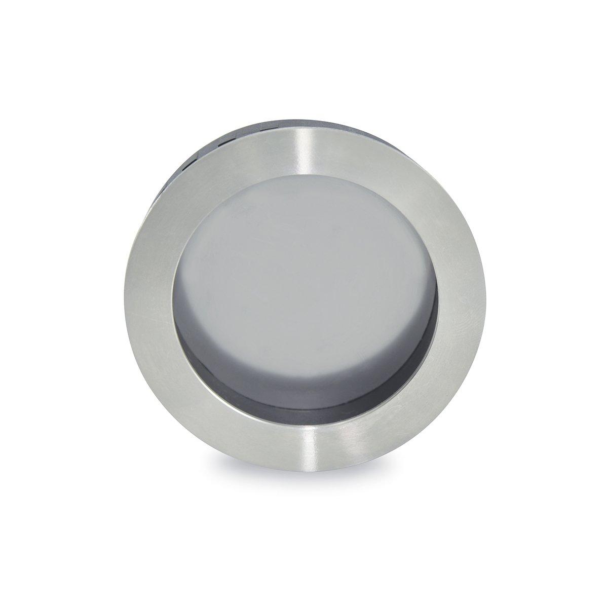 Jako WFH111X75PSS Round Flush Pull - Polish Stainless Steel, Diameter 2 61/64''