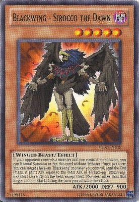 Yu-Gi-Oh! - Blackwing - Sirocco the Dawn (TU07-EN018