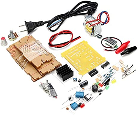 DIY Lm317 Adjustable Voltage Power Supply Board Learning Kit with Case China