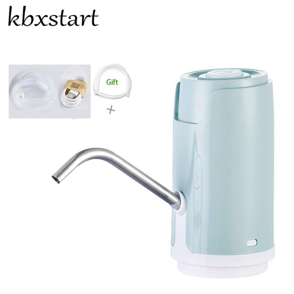 Kbxstart Electric Automatic Bottled Cold Water Dispenser Pump Portable Mini Dispensador De Agua Drinking Water Pump For a Bottle (Blue) - - Amazon.com