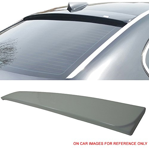 2008 Bmw 300 Series - Pre-Painted Roof Spoiler Fits 2002-2008 BMW E65 E66 7 Series | AC Style #300 Alpine White III - Other Color Available Rear Trunk Tail Wing by IKON MOTORSPORTS | 2003 2004 2005 2006 2007