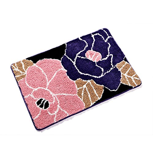 CLG-FLY Lucky grass mat bed bedroom bathroom mats bathroom door the rectangular mat door pratunam pad,70x140CM ''th14 by CLG-FLY