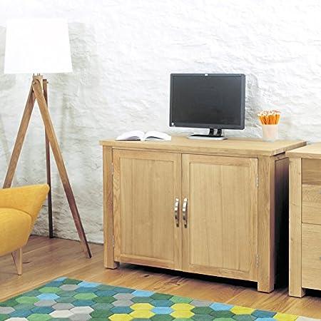 Kendall roble oculta oficina en casa escritorio: Amazon.es: Hogar