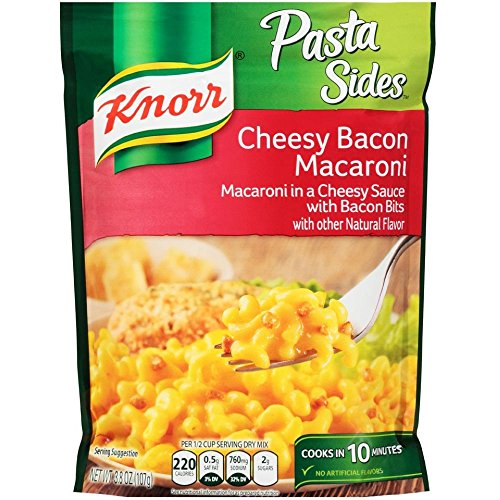 Knorr Pasta Sides Cheesy Bacon Macaroni 3.8 oz (Pack of 12)