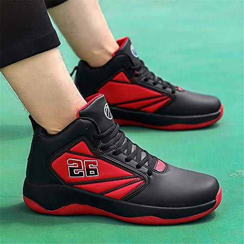 Ligeras Transpirables Alta 38 Botas Zapatillas Red blue Baloncesto Ayuda Para Willsky De Absorción Correr Ocio Golpes Hombre cYwxgPf