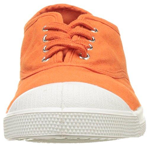 Orange Femme Baskets Tennis Lacet Bensimon IqCwURIg