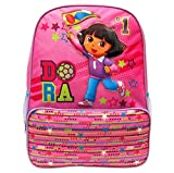 Dora No 1 the Explorer Books Large Full Size 16' 3d Backpack Flag