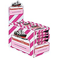 Fisherman 's Friend Raspberry, cartón con 24 Bolsas |