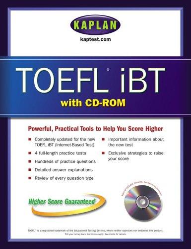 Kaplan TOEFL iBT (Kaplan TOEFL IBT (w/CD))