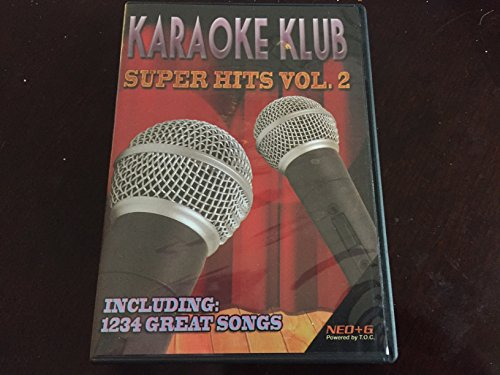 Karaoke Klub NEO+G Disc Over 1200 Super Hits Volume 2 ** WILL ONLY PLAY ON RSQ NEO+G PLAYERS** ()