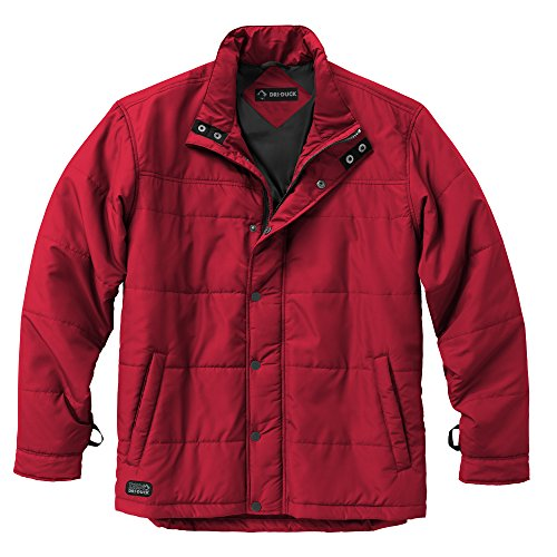 DRI Duck Men's 5371 Traverse Puffer Jacket, Red, X-Large ()