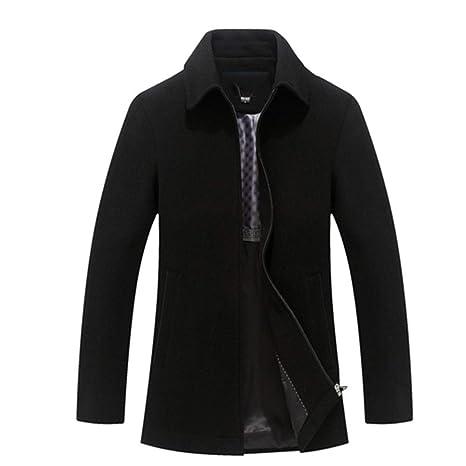 f3294b5204160 SHKAC Cappotto Uomo Giacche Blend da Uomo Cappotti E Giacche da Lavoro Warm  Short Clothes for