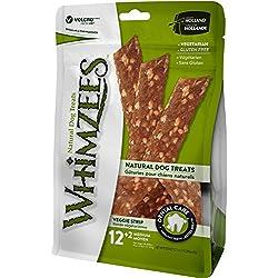WHIMZEES 14 Count Natural Grain Free Dental Dog Treats, Veggie Strip, Medium
