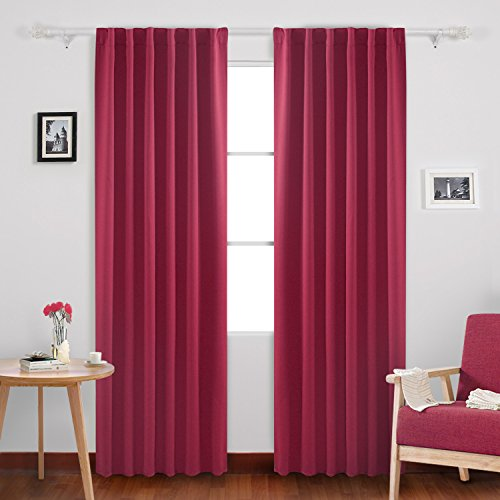 Deconovo Curtains Blackout Insulated Coverings