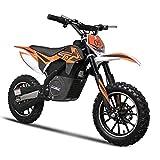 SAY YEAH Electric Dirt Bike 24V500W Rocket Power Motocross Bike,Kid Motorcycle 3 Speed Selectable