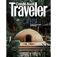 1-Year (8 Issues) of Conde Nast Traveler Magazine Subscription