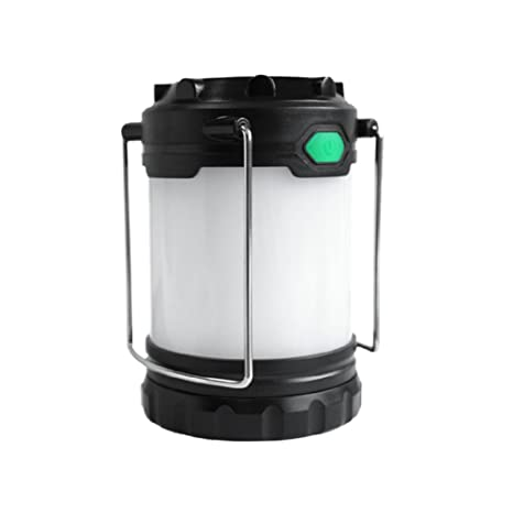 LED Camping Lantern, 100LM, Camping Gear Equipment Flashlight Lanterns, Outdoor USB Rechargeable Tent Light for Hiking, Emergency, Hurricanes, Outages, 3 AA+4 AAA batteries(Batteries is not included!)