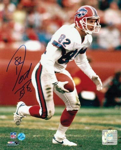 Don Beebe Buffalo Bills Autographed 8x10 Photo Running - Signed NFL Photos