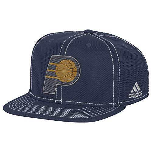 Indiana Pacers Cap - NBA Indiana Pacers Men's Lights out Flat Brim Snapback Cap, One Size, Fashion