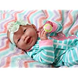 """Sweet Smiling Baby Preemie Reborn Clothes Correct Doll 15"""" Real Vinyl Realistic Berenguer Lifelike with Accessories"""