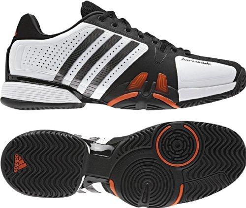 Adidas Adipower Barricade 7.0 Mens Tennis Shoes (White/Iron/Black ...