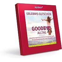 mydays Erlebnis-Gutschein 'Goodbye Alltag' | 50 Erlebnisse, 330 Orte | Geschenk für Männer und Frauen