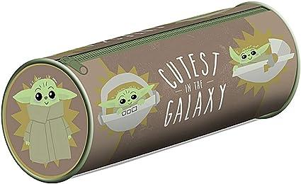 Estuche original de Star Wars el mandalorian más lindo en la galaxia de PVC estuche con cremallera: Amazon.es: Oficina y papelería
