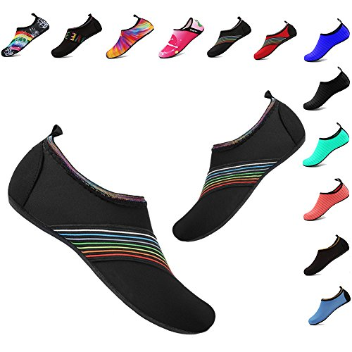 Exercise Xb YALOX Aqua Yoga Swimming Outdoor Beach Shoes black Shoes Quick Women's Pool Water Barefoot Socks Dry for Men's Surfing Uw0rTqfU