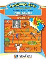 NewPath Learning Alphabet Activity Series Initial Sounds Reproducible Workbook, Grade K-1