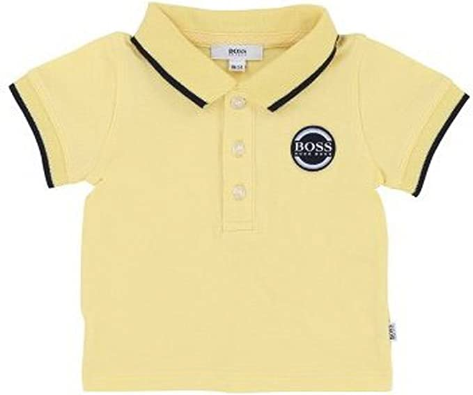 BOSS Short-Sleeved Zipped Polo Enfant